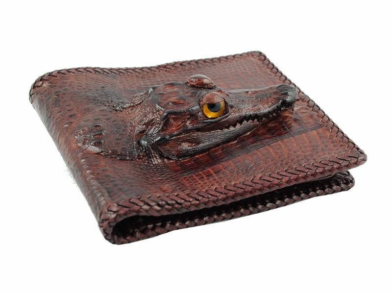 dbe774e09491 Необычные кошельки и Оригинальные портмоне из крокодиловой кожи ...